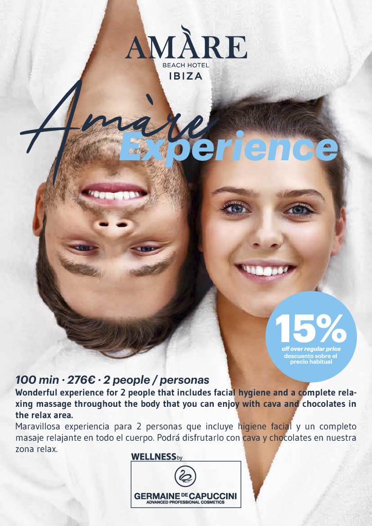 Amàre Experience para dos personas
